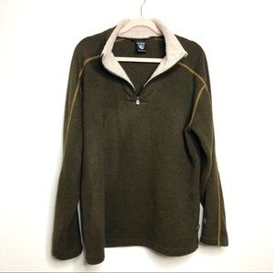 Kuhl men's alpaca fleece pullover